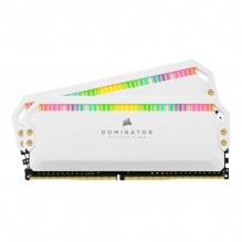 Memoria RAM Corsair Dominator Platinum RGB Blanca 16GB 2X8GB 4000Mhz - CMT16GX4M2K4000C19W