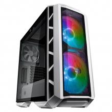 Gabinete Cooler Master MasterCase H500P Mesh White ARGB, 2 Ventiladores 120mm, Cristal Templado - MCM-H500P-WGNN-S01