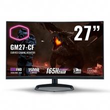 "Monitor Curvo Cooler Master GM27-CF 27"", 1920 x 1080 FHD, 3Ms, 165Hz, VA, HDMI, Displayport, AMD FreeSync Premium, Low Blue Light, Bocinas"